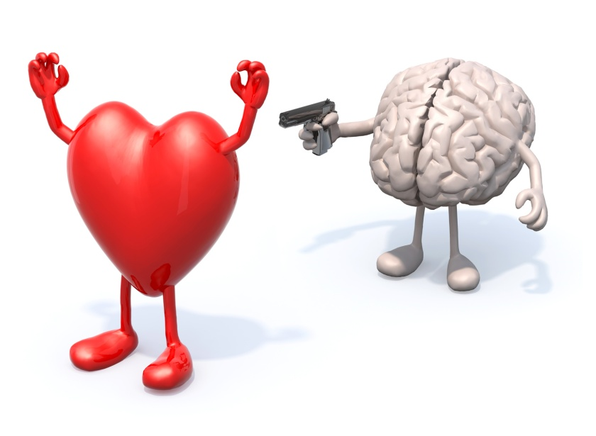 heart and brain conflict